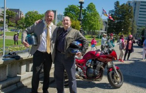 25th Annual British Columbia Coalition of Motorcyclists MLA Ride with Barry Weinbaum