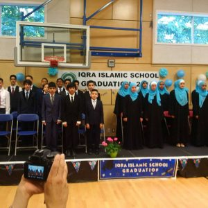 I attended the grade 7 and 8 graduation ceremony of Iqra Islamic School in North Surrey this afternoon. The school community is warm and welcoming and its graduates are well prepared for our collective future. Congratulations and thanks to principal Dr Faisal Ali as he leaves after seven years of service to take another big assignment.