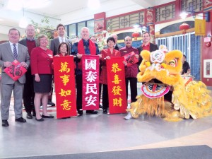 Launch of Lunar New Year at Vancouver's Chinatown